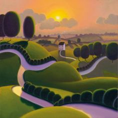 No Place Like Home (Contemporary) by Paul Corfield