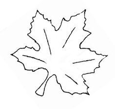 Bread basket cloth idea. Maple Leaf Embroidery Pattern – Needle'nThread.com