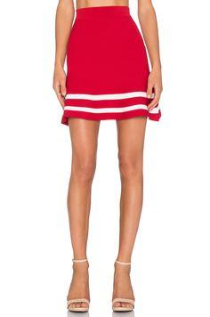 Lucy Paris x REVOLVE JV Skirt in Red