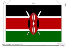 Flags of Africa - Large Printable Flags