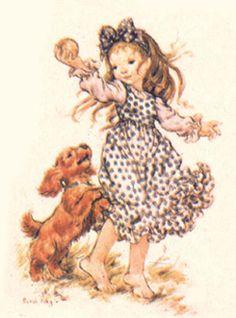 Le grand site de Sarah Kay, la galerie Sarah Key, Creative Pictures, Cute Pictures, Holly Hobbie, Sweet Pic, Australian Artists, Dog Art, Paper Dolls, Illustrators