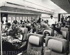 BOAC 747-136 interior