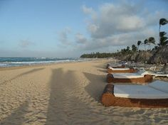 Excellence Punta Cana: Daybeds on the Beach