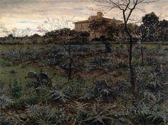 """""""Primavera"""" (1890) de Adolfo Tommasi (1851-1933)"""