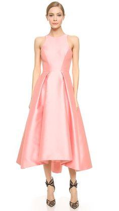 Monique Lhuillier Structured Party Dress