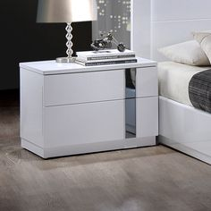 Global Furniture USA Jody 2 Drawer Nightstand | AllModern
