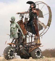 Wastelander on Wheels