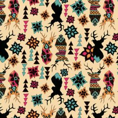 Be Diff - Estampas figurativas | Dear deer by Nathalia Meireles