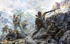 SOVIET MOUNTAIN INFANTRY WWII