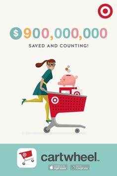 Download Cartwheel from the App Store and shop today!