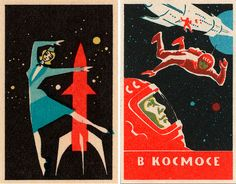 """Ben Marks of Collectors Weekly says: """"We just posted an interview with matchbox-label collector Jane McDevitt, along with more than 30 examples of mid-20th-century matchbox labels from Russia, Czechoslovakia, Japan, and Germany. #design #paper #vintage"""