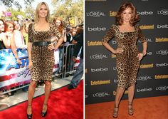 Heidi Klum vs. Raquel Welch   I normally don't care who wore it best but, being 73 looking like that, deserves an applaud. She has a curvy and great figure for any age and Hedi is too thin  so Racquel won that one.
