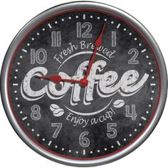 WESTCLOX 32902 Its Time for Coffee Clock