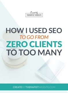 How to Land Your Therapy Website on the First Page of Google | Learn how one therapist created a specialty page with some SEO best-practices in order to get found and boost his client intake. Click to learn how he did it!