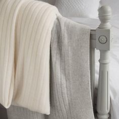 Cashmere blanket from The White Company. Why use anything less?