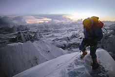 This is Everest History: Dougal Haston, picture by Doug Scott, part of the Everest Boys