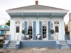 New Orleans Architecture, Architecture Details, Shotgun House Plans, Creole Cottage, Duplex House Plans, New Orleans Homes, Architectural Elements, House Painting, Old Houses