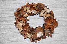 fall wreath, wreath, wianek, home