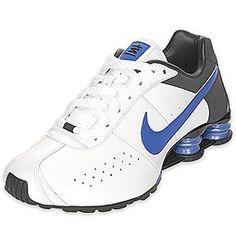 816a632ea20 Nike Shox Classic II SI White Royal Charocal Nike Shox