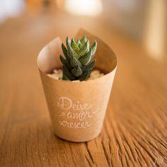 Wedding souvenirs / Let the love grow #Suculentas
