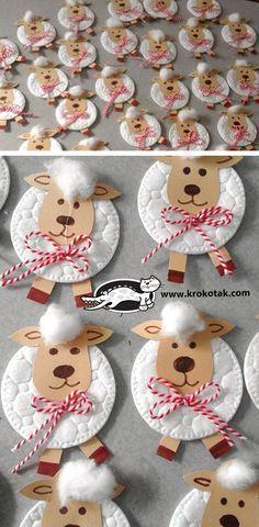 Süße kleine Idee, die auch schon Kleinkinder basteln können.