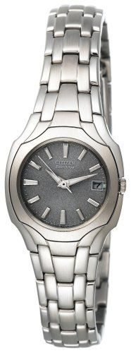 Citizen Women's EW1250-54A Eco-Drive Stainless Steel Watch Citizen. $161.25. 25mm silver-tone stainless steel case. Mineral dial window. Silver dial with date display. Dress up your day or evening look with this classic timepiece. Sweep second hand. Save 25% Off!