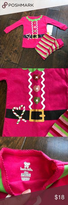 Koala Kids Christmas Pajamas Brand new girls Christmas pajamas size 12 months Koala Kids Matching Sets