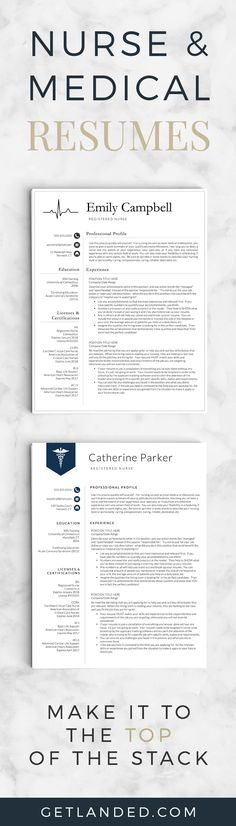 Nursing Resume, CNA Resume, Medical Assistant Resume, Nursing - nursing student resume templates
