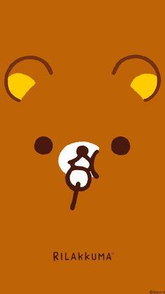 Rilakkuma Wallpaper, Kawaii Wallpaper, Sanrio Characters, Anime Characters, Fictional Characters, Cute Wallpapers, Phone Wallpapers, Molang, We Bare Bears