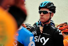 Unsure: Bradley Wiggins had given mixed messages throughout the year whether he would lead Team Sky