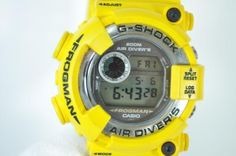 Casio G-Shock DW-8250Y-9T Frogman Yellow /Near Mint /Vintage ##PRICE SLASH## #Casio #Sport