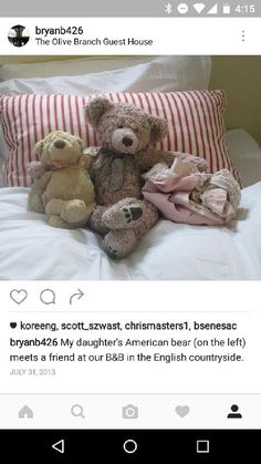 Lost on 13 Jul. 2016 @ Fiumicino, italy. My daughter's bear and comfort blanket were stolen with our luggage just outside of the Rome airport. We don't mind losing the rest of our items, but this bear (far left in the picture) and comfort... Visit: https://whiteboomerang.com/lostteddy/msg/ei6d6i (Posted by Bryan on 18 Jul. 2016)