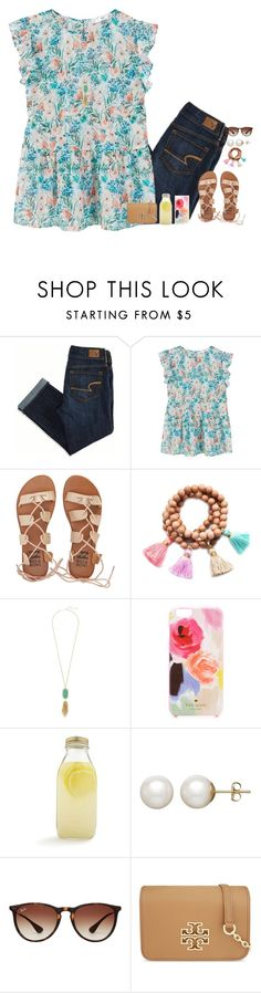 """""""Account Update {rtd}"""" by polyvore-sorority-council ❤ liked on Polyvore featuring American Eagle Outfitters, MANGO, Billabong, Gold & Gray, Kendra Scott, Kate Spade, Bormioli Rocco, Honora, Ray-Ban and Tory Burch"""