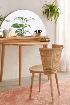 Jens Woven Windsor Chair - Urban Outfitters