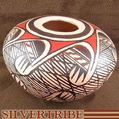 southwest miniature pottery | southwest miniatures / Miniature Hopi Pot - Hand Crafted Pottery by ...