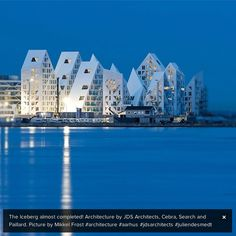 Have we got icebergs in Denmark? Oh yes. In Aarhus The Iceberg is almost completed. Architects: JDS Architects, Cebra, Search and Paillard.