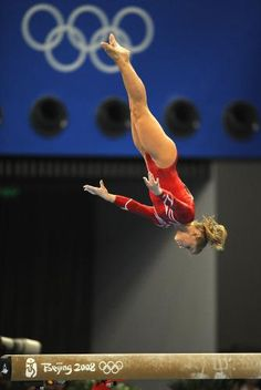 """""""Gymnastics demands whole body strength, flexibility, agility, and balance. It demands speed. It demands grace. It requires that you push the human body to its limit without fear or hesitation."""""""
