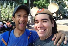 """""""Collegeis wheremost mental health problemsareactivated."""" At Disney California Adventure today I spotted Abed =P Nah I spotted Danny Pudi and he was super nice. I was geeking out  #Abed #AbedNadir #Community #DannyPudi #Actor #Geekout by luciferbob"""