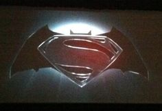 Comic-Con 10 Geeky Movie Sneak Peeks By Chloe Albanesius July 2013 Superman and Batman, Together Superman Movies, Batman Vs Superman, Batman Robin, Renaissance, New Movies Coming Out, Logo Reveal, Live Action Movie, Hooray For Hollywood, Batman Logo