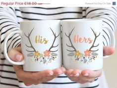 Items similar to Personalised Wedding Mugs - Bride and Groom Gift - Bridal Mugs - Wedding Couple Mugs - Gifts For Brides - Gifts For Grooms - Summer Antlers on Etsy Wedding Mugs, Wedding Gifts, Mr Mrs Mugs, Grandma Mug, Couple Mugs, Couples Coffee Mugs, Aunt Gifts, Gifts For Aunts, Graduation Gifts
