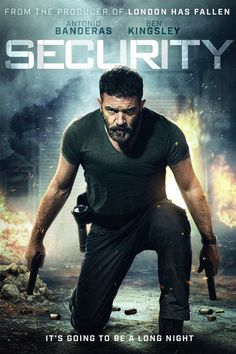 Watch Security 2017 Full Movie Online Free Download HD BDRip  #Security #movies #movies2017 (An ex-special services veteran (Antonio Banderas), down on his luck and desperate for work, takes a job as a security guard at a run-down mall in a rough area of town. On his first night on the job, he opens the doors up to a distraught and desperate young girl who has escaped and fled from a hijacking of the Police motorcade that was transporting her to testify as a trial witness in a briefcase. Hot…