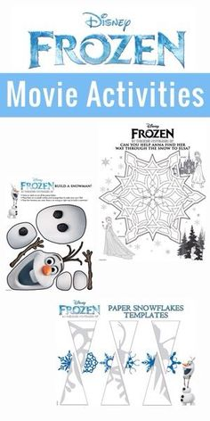 Fun Disney Frozen Activities  - My Crazy Good Life