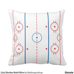 (Ice) Hockey Rink Pillow                                                                                                                                                     More
