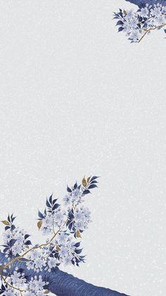 Photo Frame Wallpaper, Gold Wallpaper Background, Wallpaper Nature Flowers, Framed Wallpaper, Flower Backgrounds, Blue Background Images, Flower Background Design, Flower Graphic Design, Blue Cherry