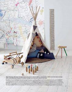 modern children's room's - styling Alex Kristal  photo Jake Curtis