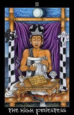 Home - The Bali Tarot Deck by Jean Kathleen Redman