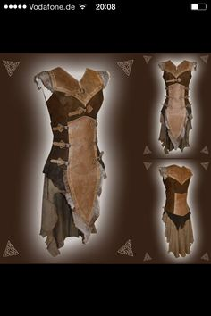 LARP female leather costume by http://larperlei.de