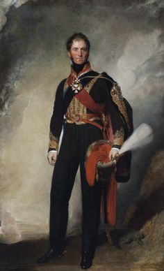 Henry Paget, 1st Marquess of Anglesey, by Thomas Lawrence. Known for rampaging through the bedrooms of London and the leg he lost at Waterloo.