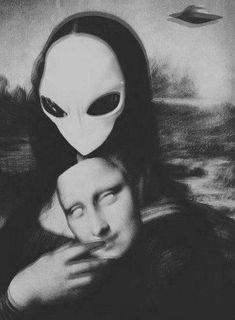 Trippy Wallpaper, Mood Wallpaper, Tumblr Wallpaper, Les Aliens, Aliens And Ufos, Alien Aesthetic, Aesthetic Art, Alien Art, Psychedelic Art