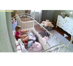 A post naptime reading session as seen on iPhone app from the WiFi Baby 4 baby monitor and nanny cam.  #mywifibaby #bestbabymonitor #babygear